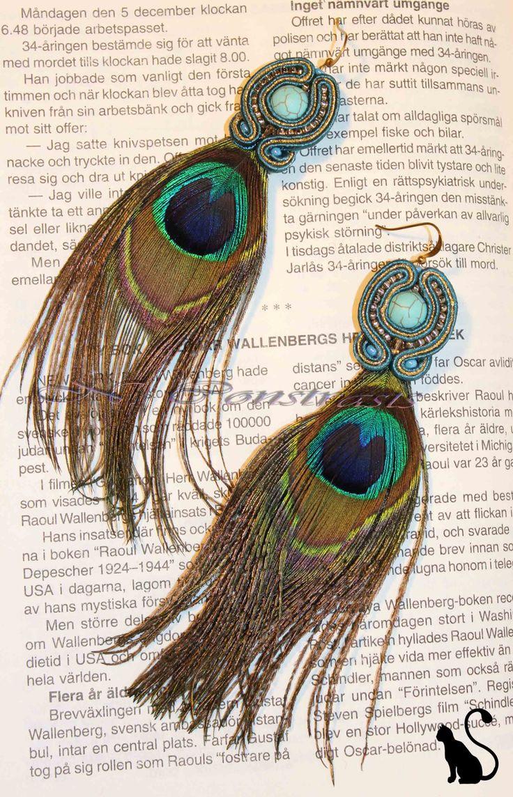 """9. Earrings """"Scheherazade"""""""