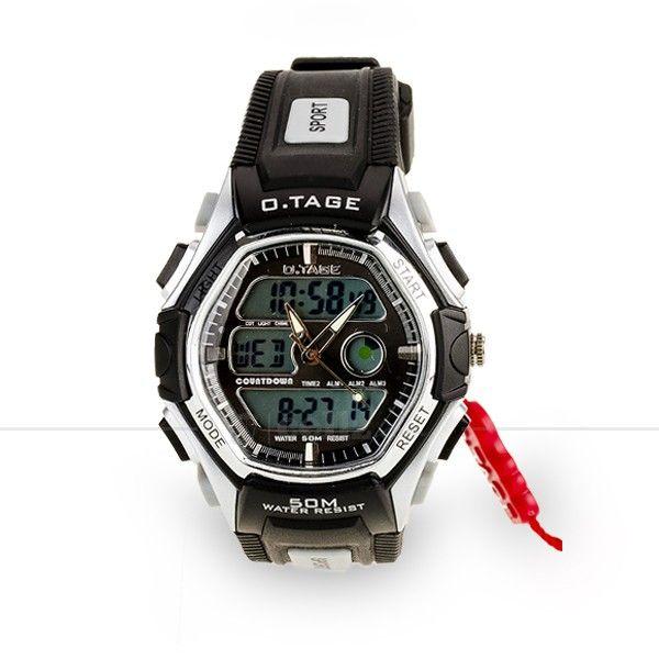 Otage Sports Waterproof Dual Time Display Wrist Watch #watch #sports #waterproof #dualtime #otage #cellz