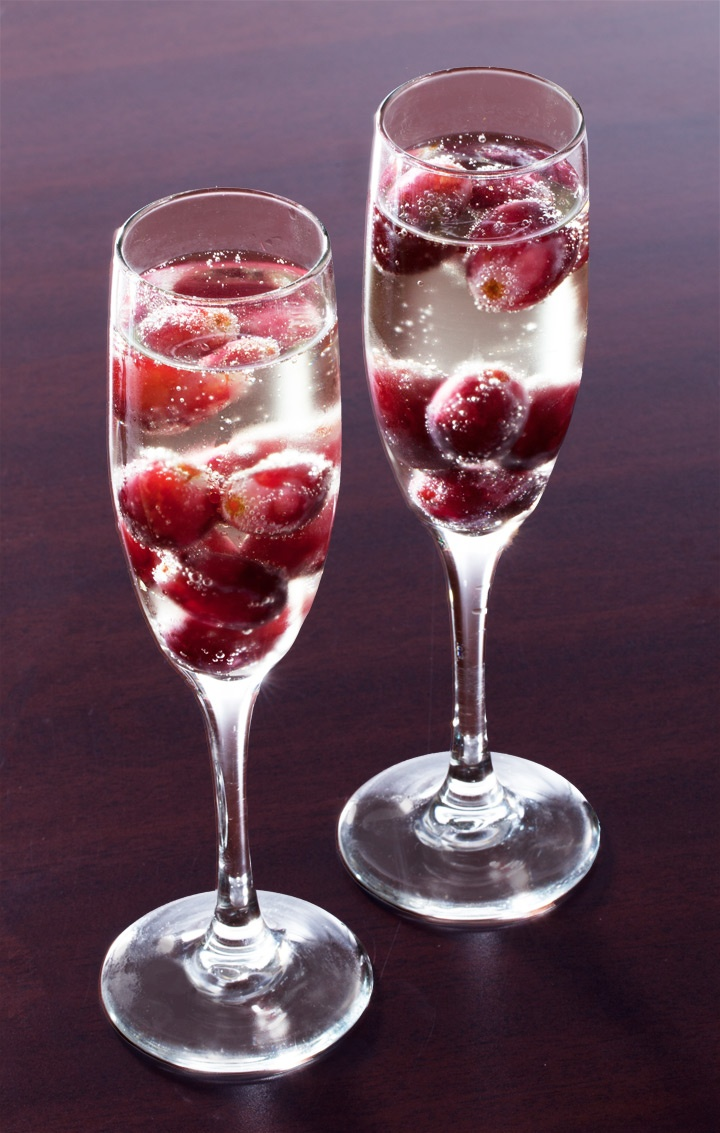 1000 images about champagne fountain punch recipes on for Champagne mixed drinks