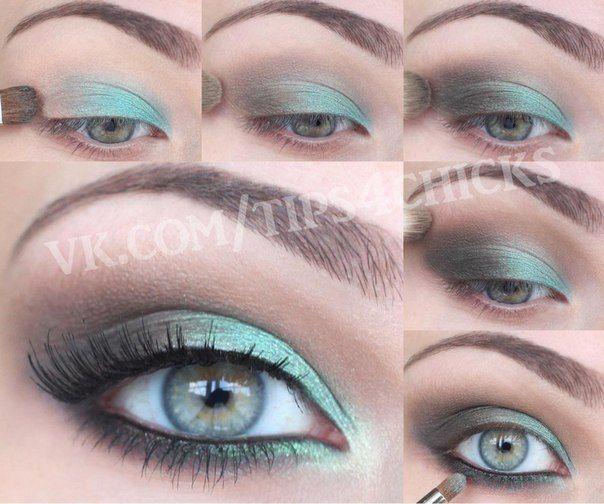 Макияж для зелёных глаз | 126 фотографий | ВКонтакте