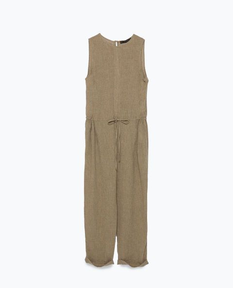 Zara Jumpsuit. Shop it and 19 other spring jumpsuits under $200.