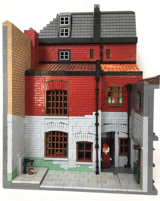 The back of 26 Dorset Street, 1888 | by Black Hole of Lego