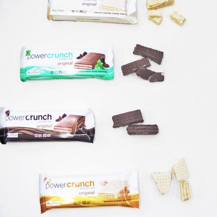 Power Crunch protein bar flavours
