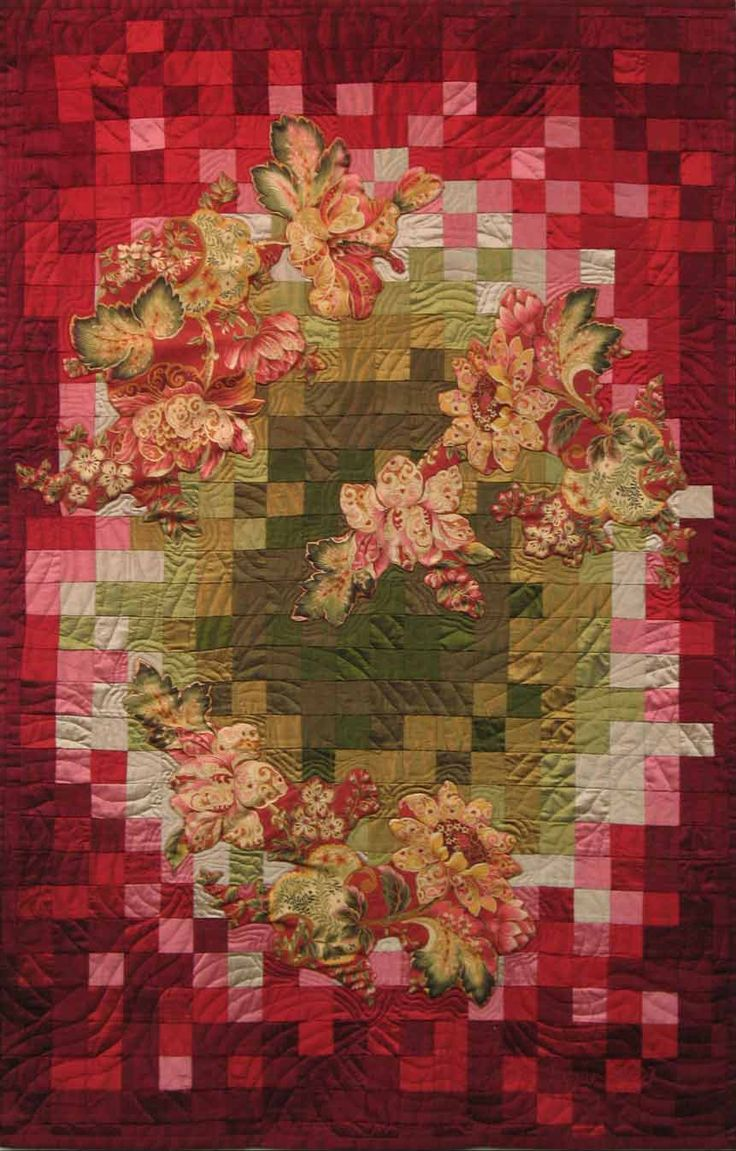 Sum of Squares by Loris Bogue   Fiber art
