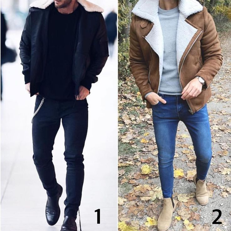 Which shearling? 1 or 2  Pages to upgrade your style  @stylishmanmag  @shopthatgrid