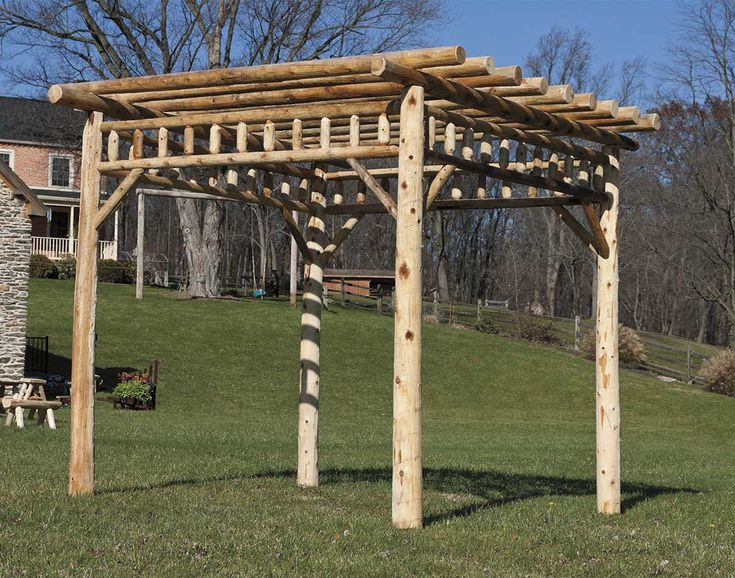 255 best images about wooden gazebo kits on pinterest for Rustic gazebo kits