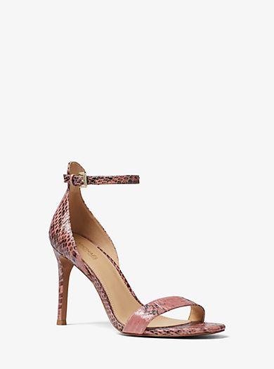b33cd1b1aae Harper Snakeskin Sandal