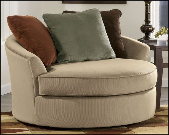Marvelous Round Sofa Chair Living Room Furniture Part 25