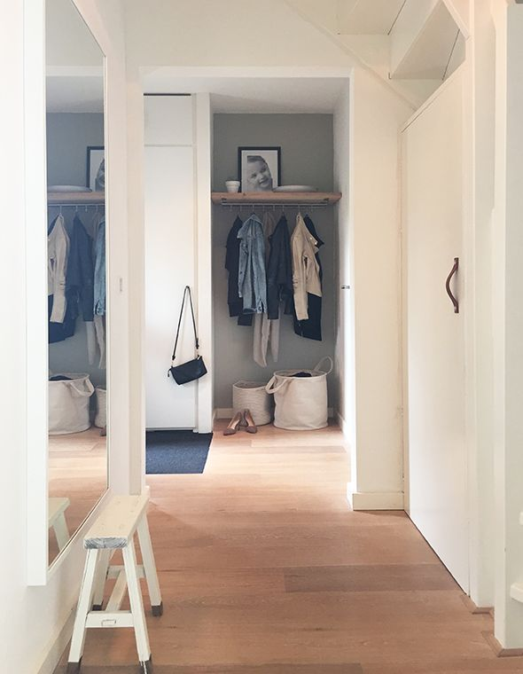 Hal styling inspiratie | Interieur design by nicole & fleur | Grote spiegel