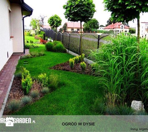 Ogród z pionowym skalniakiem - Średni ogród za domem - zdjęcie od Lunatic Garden