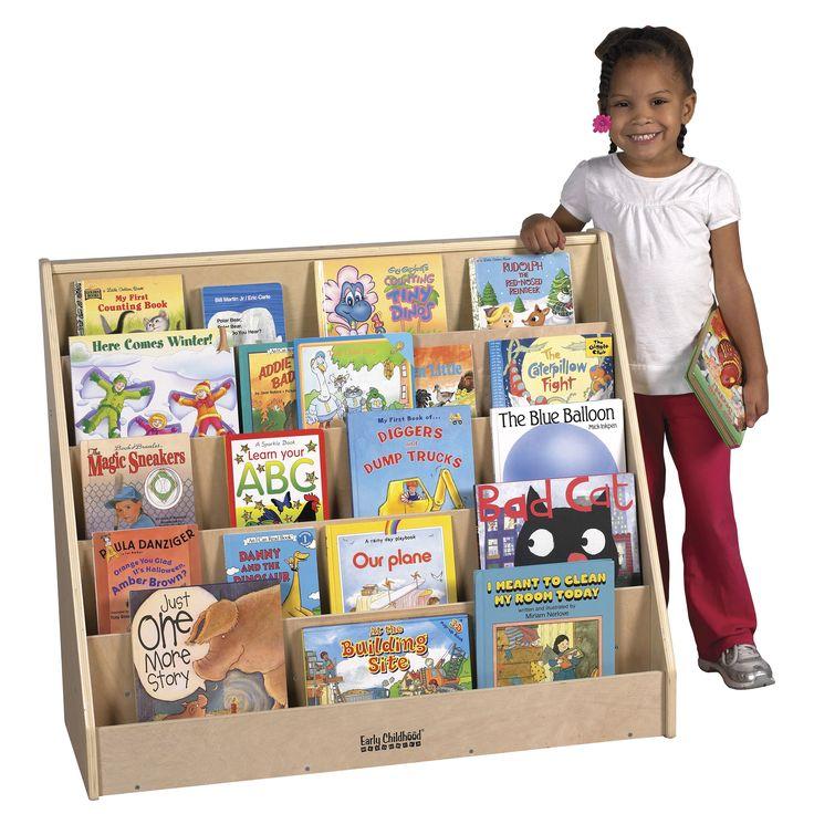 ECR4kids Single Sided Book Display Stand