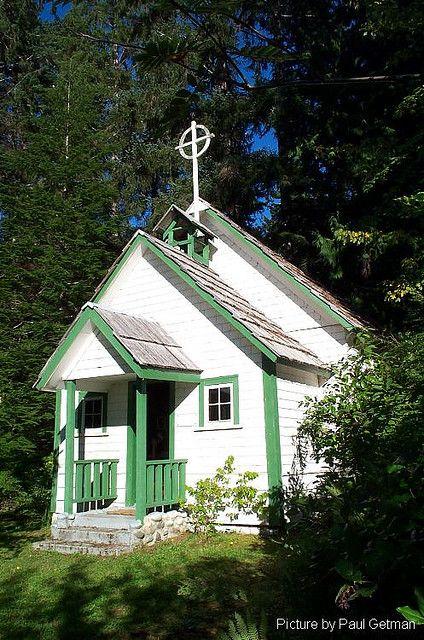 St Olaf's Church, Quatsino, BC #VancouverIsland