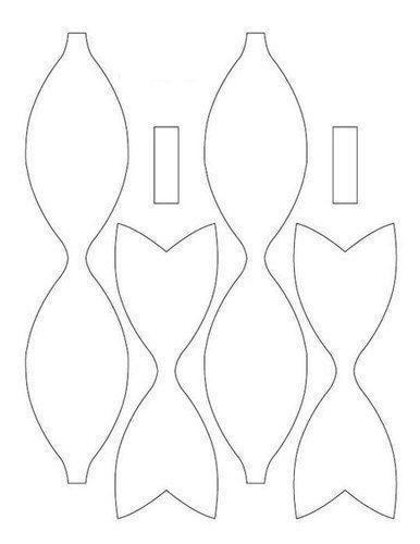 Schleife aus Papier falten - Anleitung-dekoking-com-3