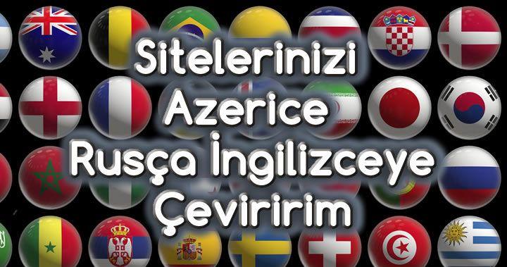 Sitelerinizi Azerice Rusca Ingilizceye Ceviririm Azerice Grafik Tasarimcilar Logo Tasarimi