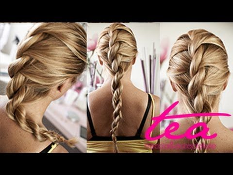 Come fare una Treccia Twist - YouTube