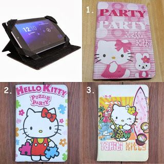 leather case hello kitty cute ^^