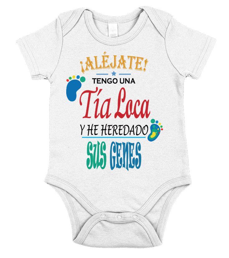 Tía Loca bebe!!  #nephew #nephewshirts #giftfornephew #niece #nieceshirts #giftforniece #family #hoodie #ideas #image #photo #shirt #tshirt #sweatshirt #tee #gift #perfectgift #birthday #Christmas