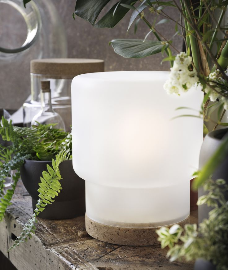 SINNERLIG tafellamp | #IKEA #IKEAnl #design #IlseCrawford #nieuw #SINNERLIG #collectie #kurk #lamp