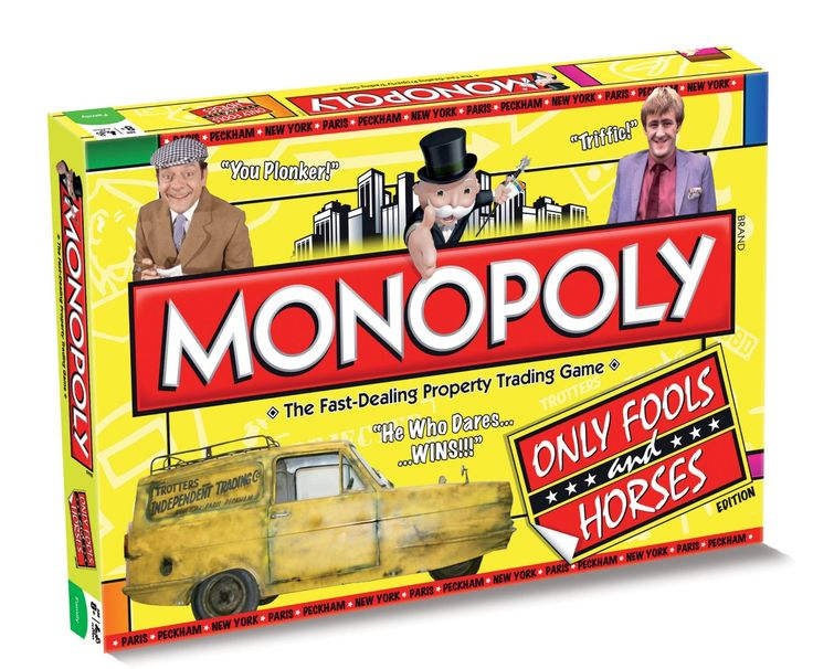 """Monopoly """"Only Fools and Horses"""" Edition Monopoly Board Game"""