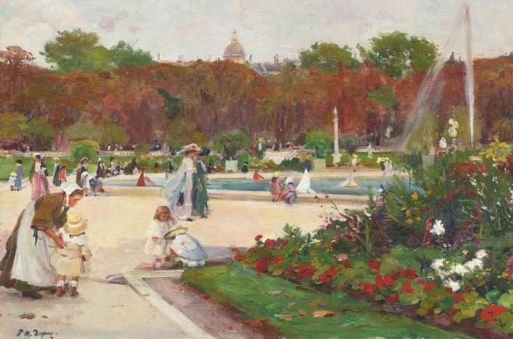 Paul-Michel Dupuy - Jardin du Luxembourg