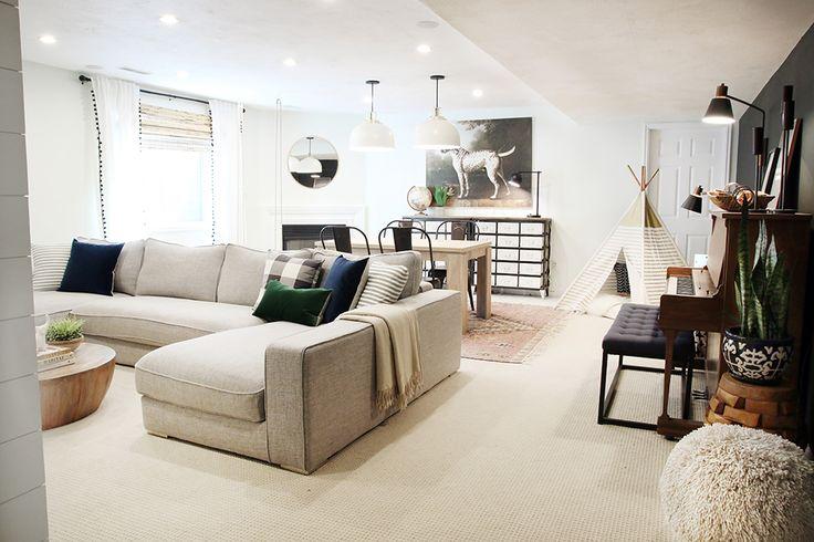 218 best finished basement images on Pinterest | Basement ...