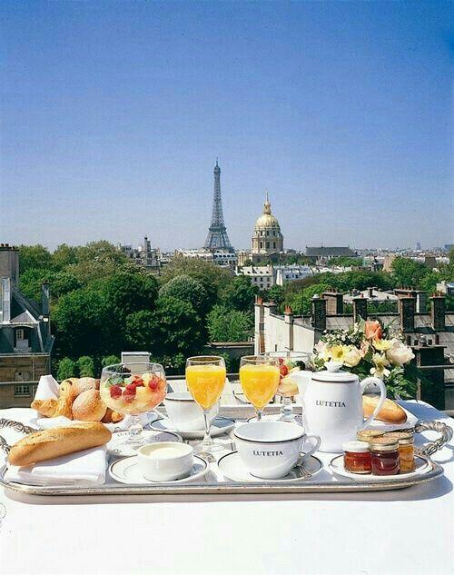 #breakfast #France #Paris  ♡
