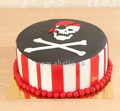 """Детский торт """"Пиратский"""""""