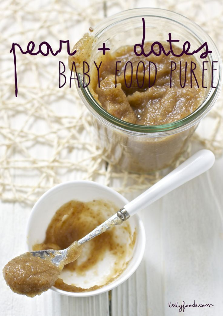 Roasted Pear + Dates + Orange — Baby FoodE | organic baby food recipes to inspire adventurous eating