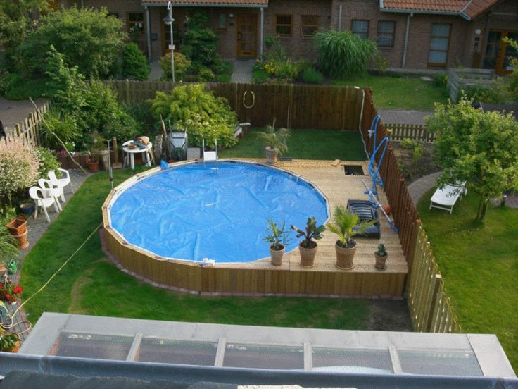 Intex ultra frame pools outdoor ideas pinterest ground pools decking and backyard - Swimmingpool aus paletten ...