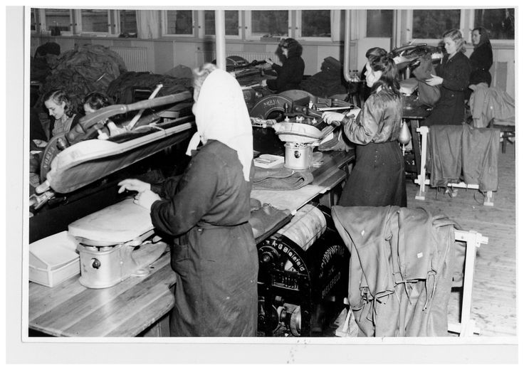 40´s factory. The first factory was moved from Helsinki to Kankaanpää in 1939, in order to keep it safe from bombing. #Reima70 #1940s