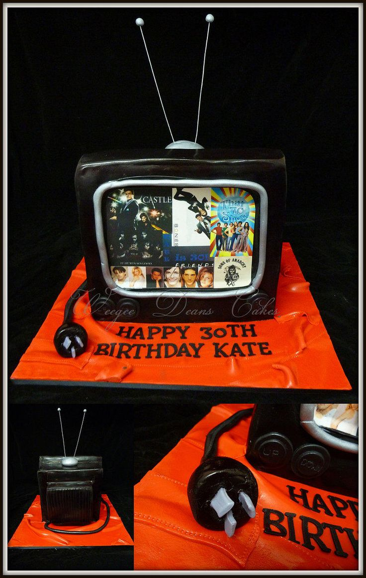 26 best images about Television Cakes on Pinterest