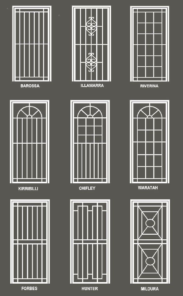 Best 25+ Window grill ideas on Pinterest | Window grill design ...