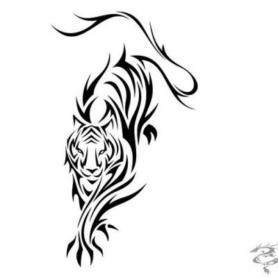 diseño tatuaje de tigre | Tatuajesxd