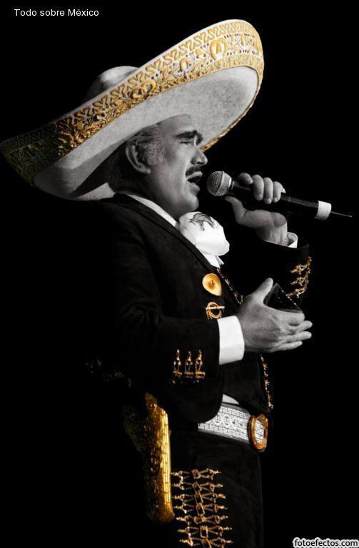 Vicente Fernandez.  La Voz de Mexico. Uno de los mejores interpretes de nuestra musica ranchera!