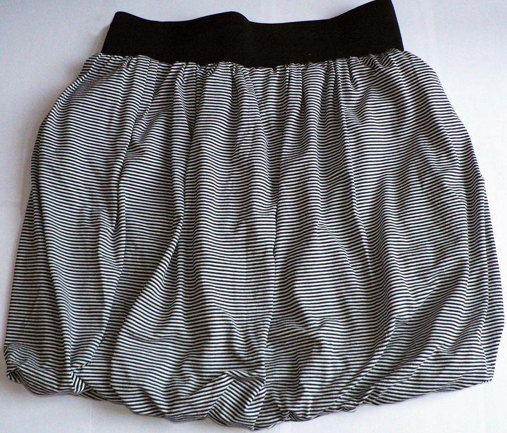 spódnica w paski z gumką