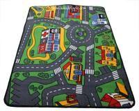 Tapis enfant circuit voiture 93cm x 133cm Sélection Marchand de tapis