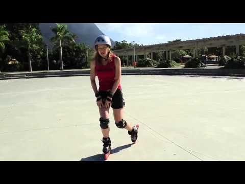 Como melhorar seu patinar e equilibrio na posição de cinco rodas em patins inline. - YouTube