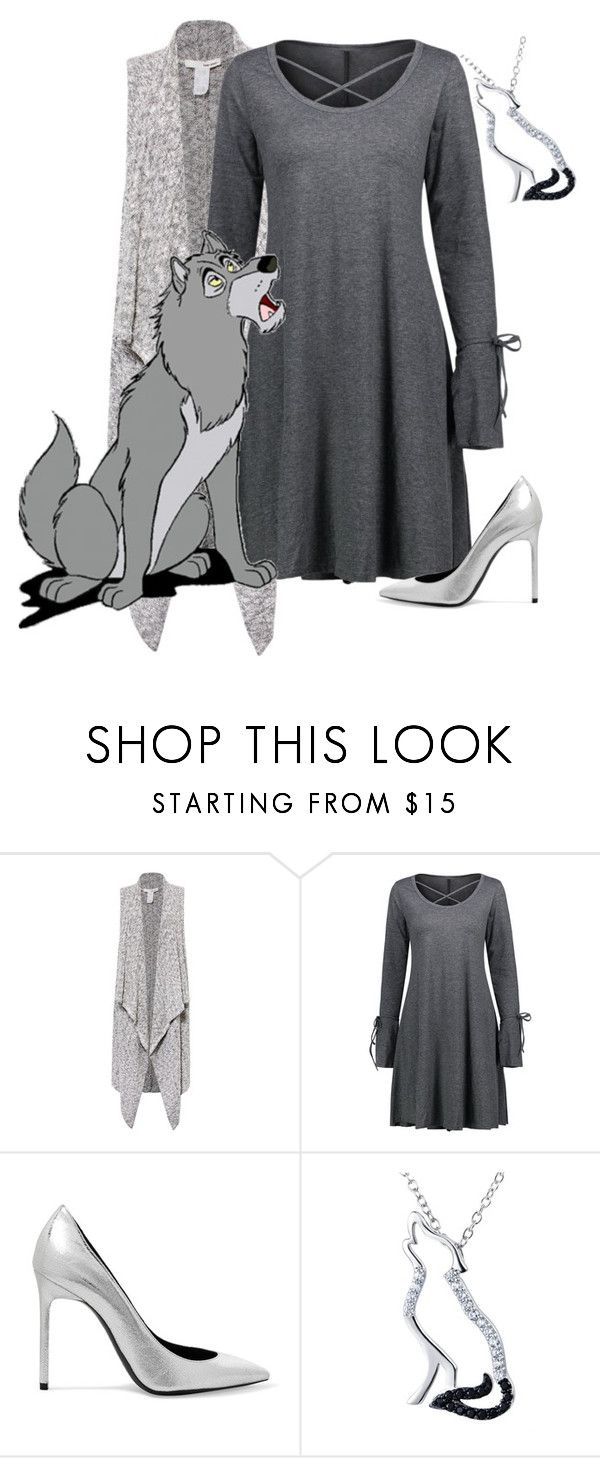 """""""The Jungle Book: Akela"""" by madalynofandalasia on Polyvore featuring Sans Souci, Disney and Yves Saint Laurent"""