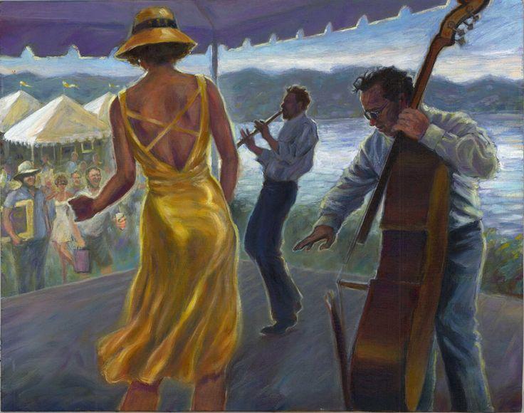 Mark Keller - American Figurative painter
