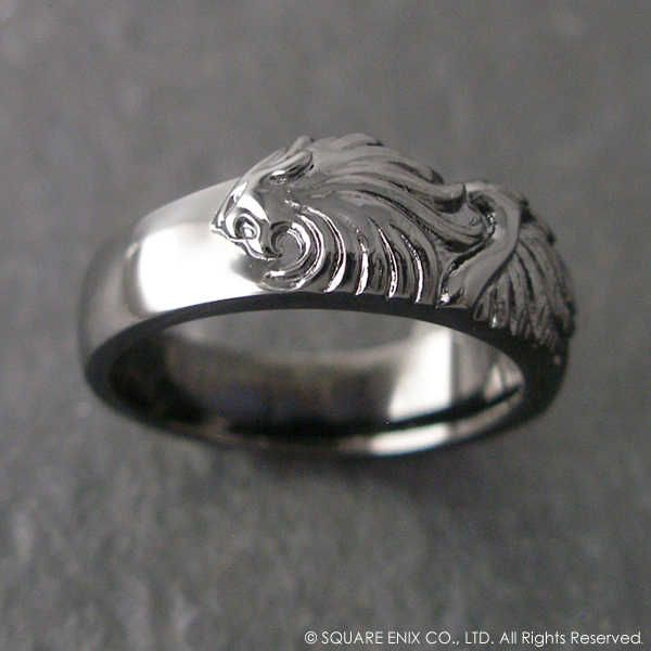 Griever (from Final Fantasy VIII) - Squall's ring - looks like a winged lion