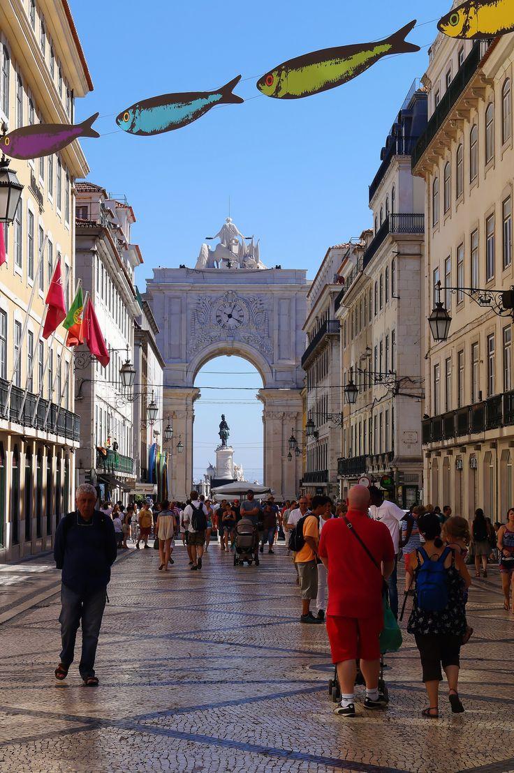 Rua Augusta - Lisboa, Lisboa - Portugal