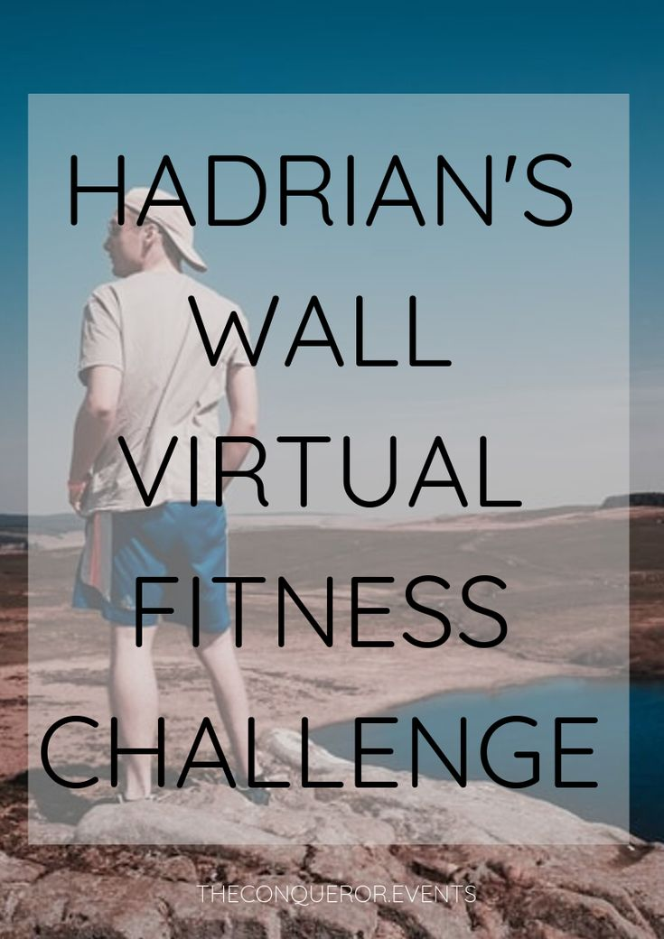The Hadrian's Wall Virtual Fitness Challenge takes you 90