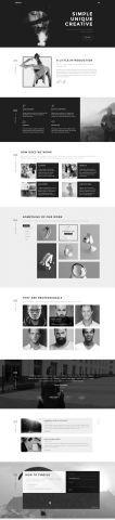 #Portfolio #HTML #template - Home 3