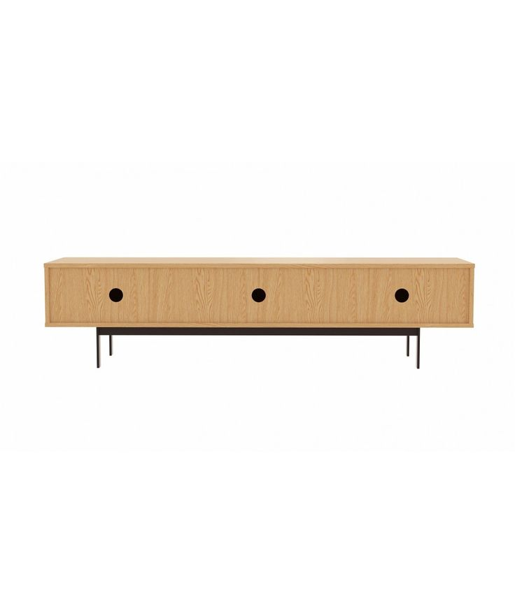 Luna TV unit 180 - Oak | Home Office Furniture - Easterly
