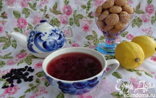 Чай из черной смородины с мятой | Кулинарные рецепты от «Едим дома!»