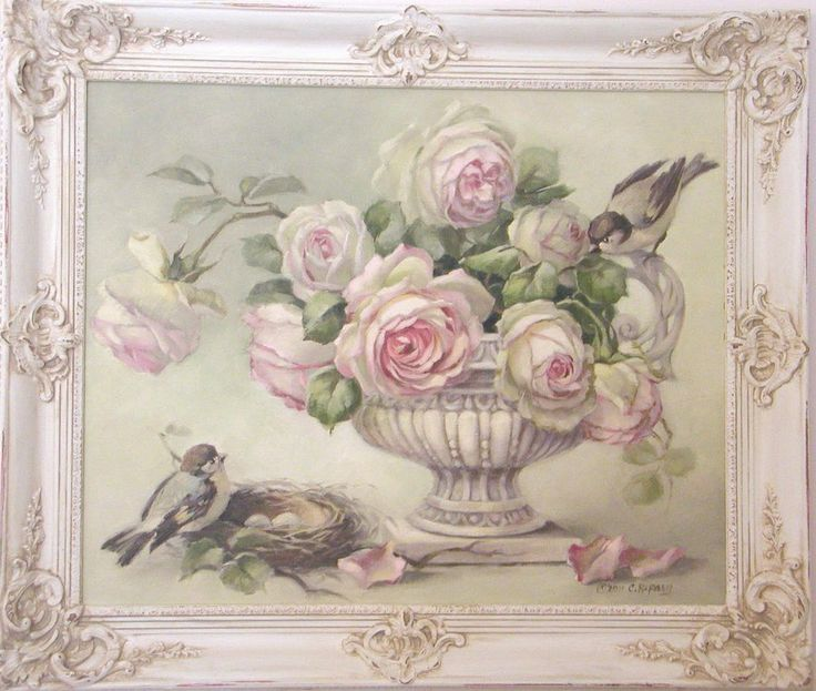94 best art christie repasy images on pinterest cherry - Cuadros shabby chic ...