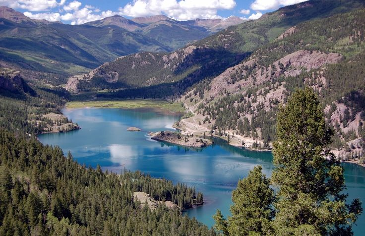 Lake San Cristobal. Lake City, Colorado - Lake City Switchbacks