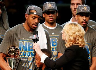 NBA Finals MVPs. 2015: Andre Iguodala ...