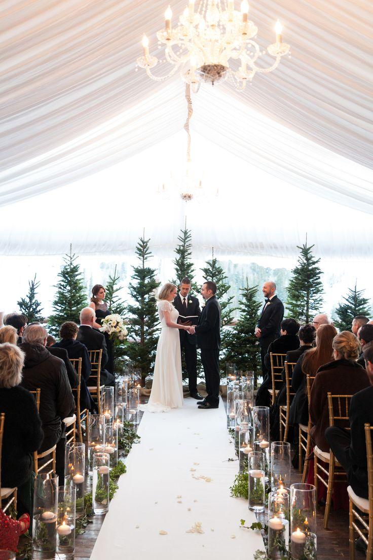 25+ Best Ideas About Winter Wedding Ceremonies On