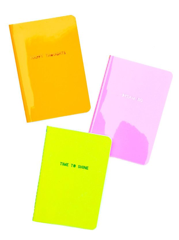 Neon Vinyl Notebook   Stocking stuffers, Journal and Craft